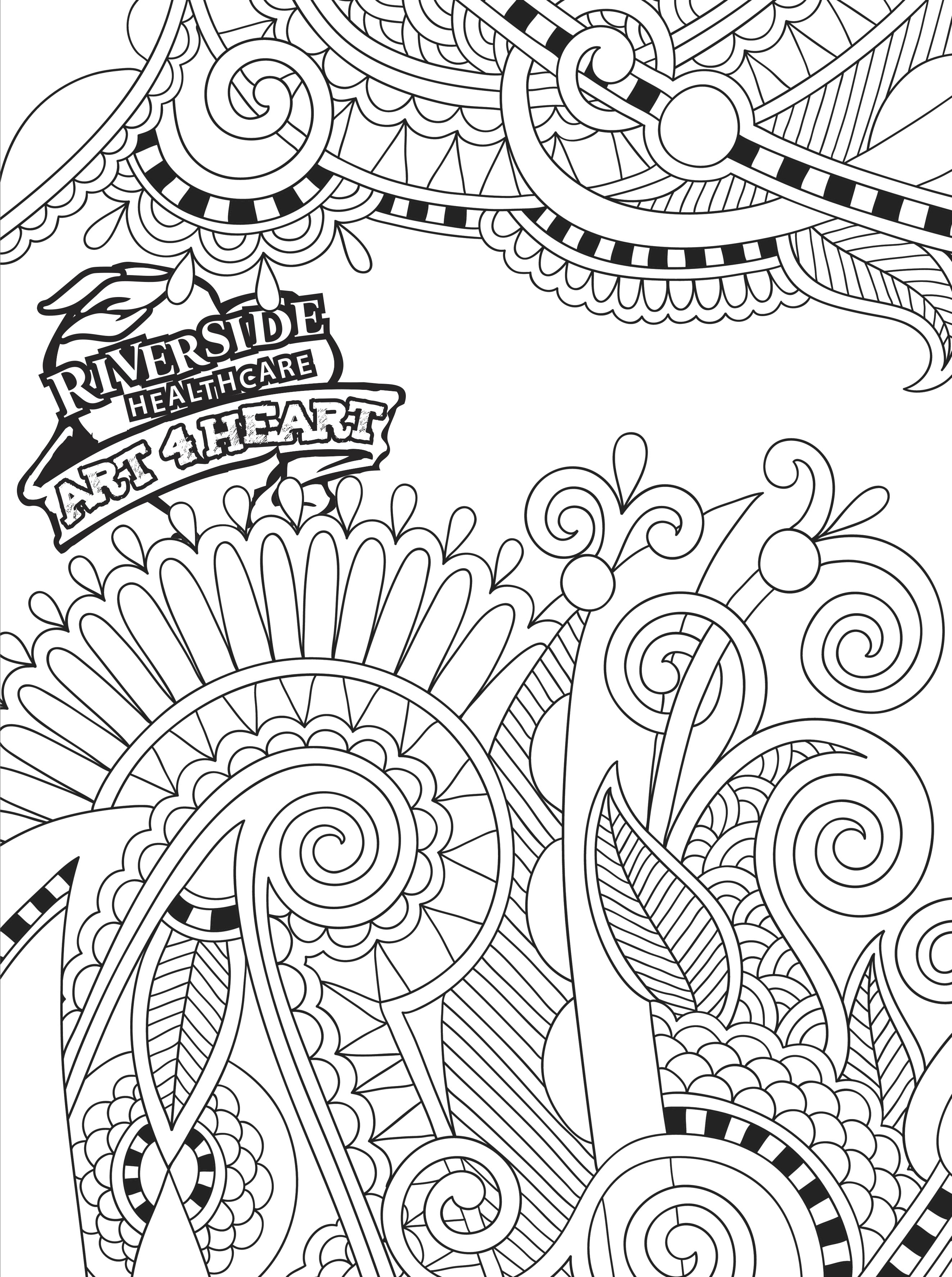 Printable Coloring Pages - HealthCurrents